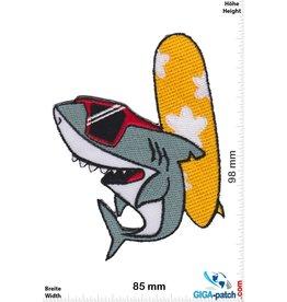 Shark surfing