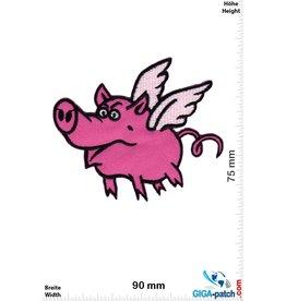 Schwein Funny flying pig