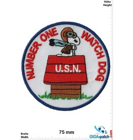 Snoopy Snoopy - Number One Watch Dog - U.S.N.