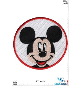Mickey Mouse  Mickey Mouse  - Kopf - round