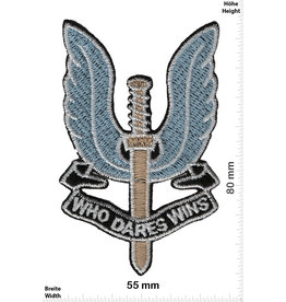 SAS SAS - Who Dares Wins - blue