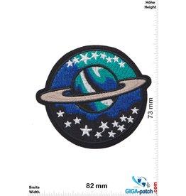 Raumfahrt Planet mit Ring - Space - Saturn - round