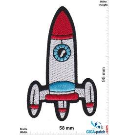 Rakete Rakete - Rocket - silver red