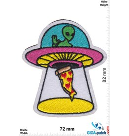 Alien Alien - UFO - Pizza