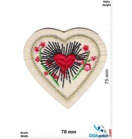 Love Herz - Blumen