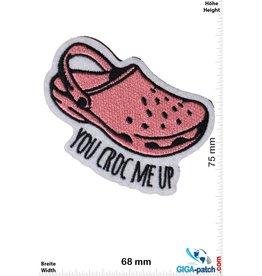 Fun You Croc me up - Crocs