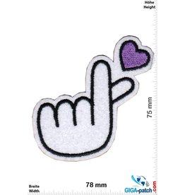 Love Love Fingers - heart