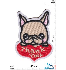 Love Thank you - pug