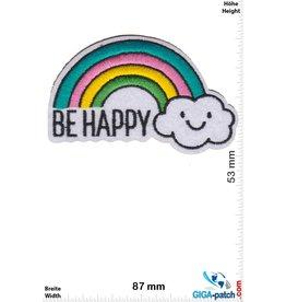 Rainbow   Be Happy - Regenbogen - Rainbow