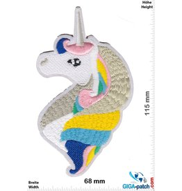Unicorn Einhorn - Kopf