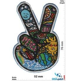 Frieden Peace Hand Finger - Frieden