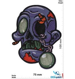 Zombie Zombie - purple - Head