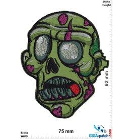 Zombie Zombie - grün - Head