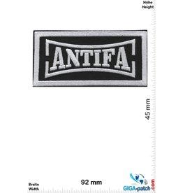 ANTIFASCHISTISCHE AKTION Antifa - ANTIFASCHISTISCHE AKTION - silver black
