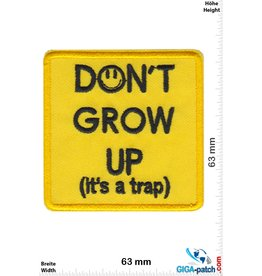 Fun Don't grow up (it's a trap)