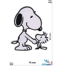Snoopy Snoopy - shake hands friends - The Peanuts