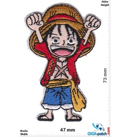 Monkey D. Ruffy - Yeah - Ruffy Manga - One Piece