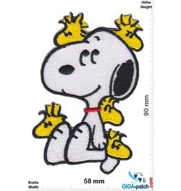 Snoopy Snoopy with many Tweety - Die Peanuts