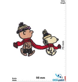 Snoopy Snoopy - Charlie Brown and Snoopy - Winter  - The Peanuts