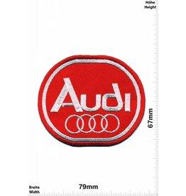 Audi Audi - rot - oval