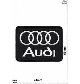 Audi Audi - schwarz -Quadrat