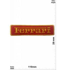 Ferrari Ferrari - red / gold