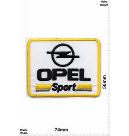 Opel Opel Sport - yellow