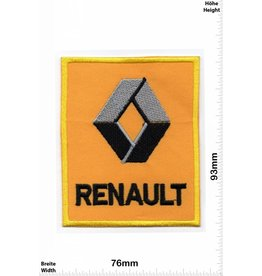 Renault Renault- yellow