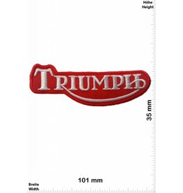 Triumph Triumph - red / white