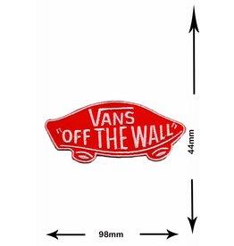 """Vans """"Vans """"""""OFF THE WALL"""""""" - rot"""