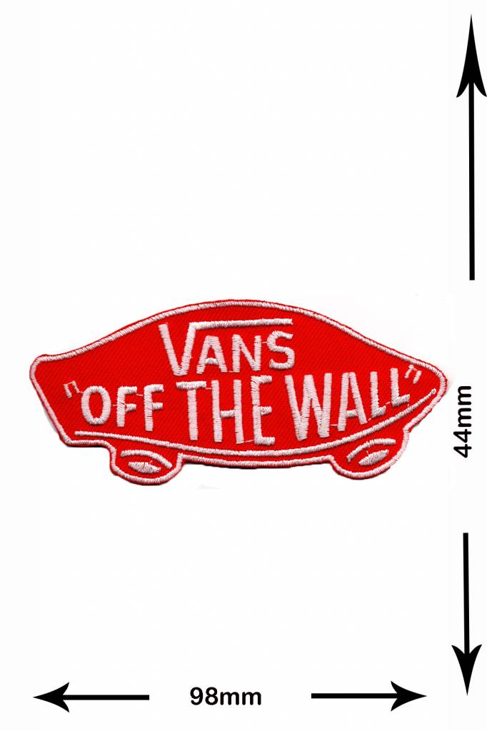 vans off the wall patch