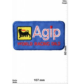Agip Agip World Racing Oils - blue