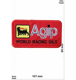 Agip Agip World Racing Oils - red