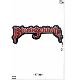 Black Sabbath Black Sabbath - red