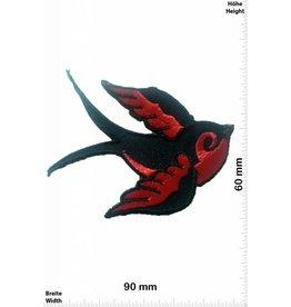 Vögel, Oiseau, Bird Vogel -links - rot