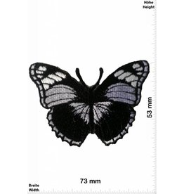 Schmetterling, Papillon, Butterfly Butterfly - black