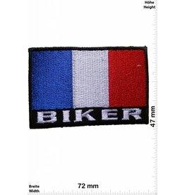 Frankreich, France Biker Flag France