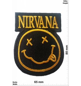 Nirvana Nirvana - Smiley - black/gold