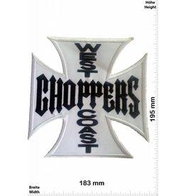 West Coast West Coast Choppers -  white -  BIG 19,5 CM