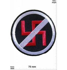 No Nazi NO / STOP Nazi - black