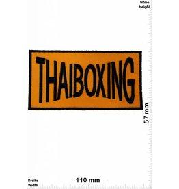 Boxen Thaiboxing - gelb / schwarz - gelb / schwarz