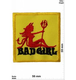Bad Girl Badgirl - yellow - evil