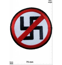 No Nazi NO Stop Nazi - schwarz