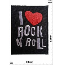Rock n Roll I love Rock n Roll - with heart