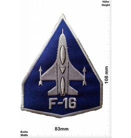 F 16 F-16 blau