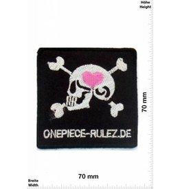 Onepiece ONEPIECE-RULEZ Aufnäher-