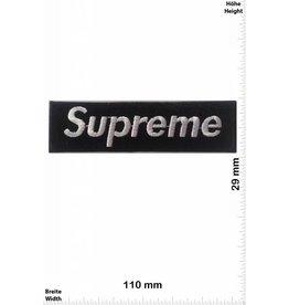 Supreme Supreme schwarz / schwarz