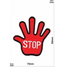 Stop STOP Hand