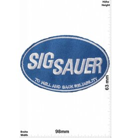 Sig Sauer Sig Sauer - blue - To Hell and Back