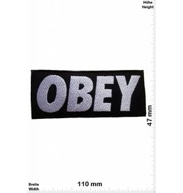 Obey Obey - black